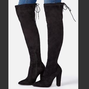 Cara Stretch Over-the-knee Boot